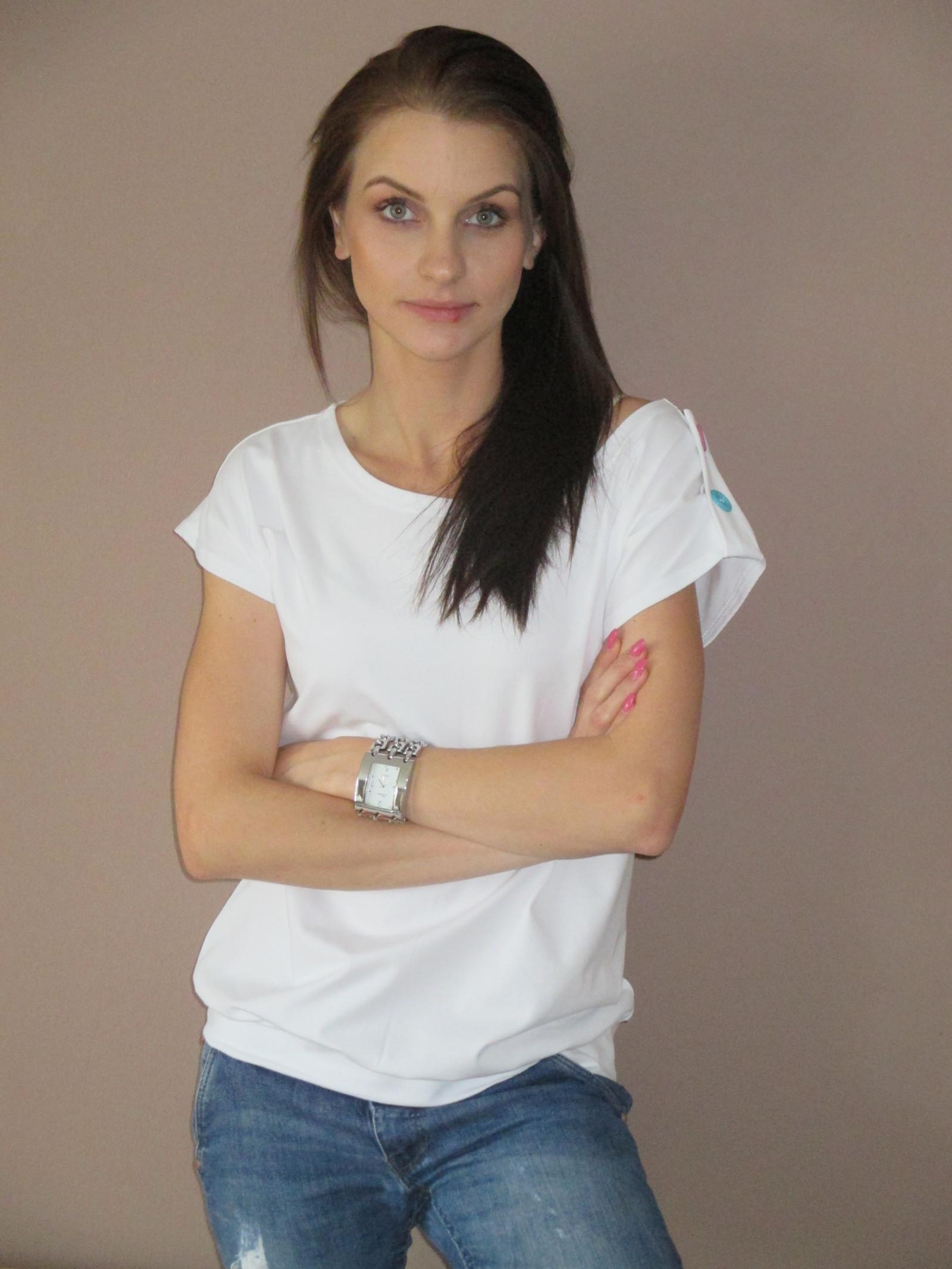 dámské volné triko - různé barvičky   Zboží prodejce lenula67  df924845ba