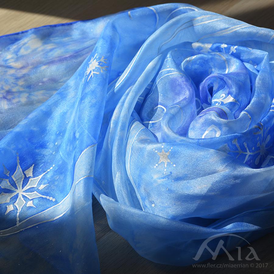 Sněhové vločky - šátek   Zboží prodejce MiaErrian  d7c7034bd0