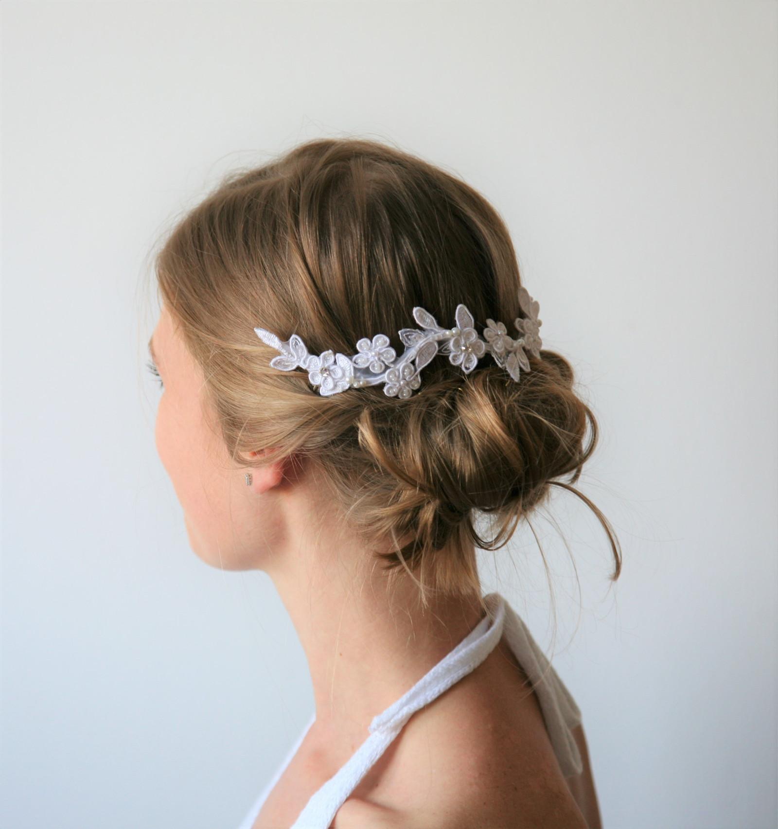 Hřebínek do vlasů - Donna - bílá nebo ivory   Zboží prodejce ... 279022e46e