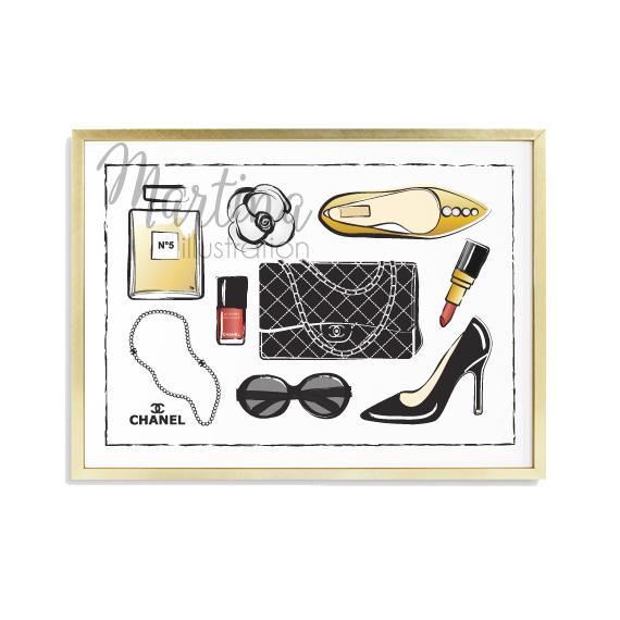 Obraz Chanel Fashion Zboží Prodejce Martina Pavlová Flercz