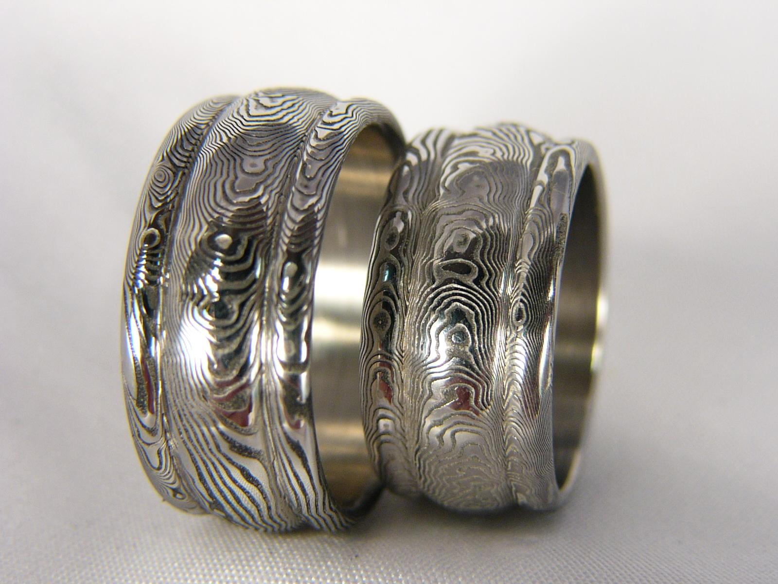 Snubni Prsteny Denethor Z Damascenske Oceli Zbozi Prodejce Cubick