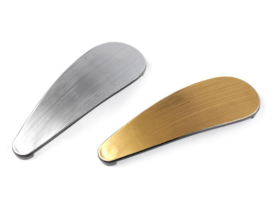 AKCE! Sponka do vlasů pukačka 7cm-zlatá a stříbrná   Zboží prodejce ... 8539066759
