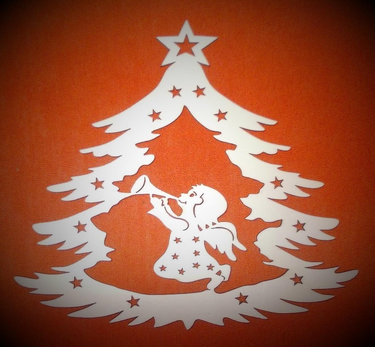 Výsledek obrázku pro andělé u stromku