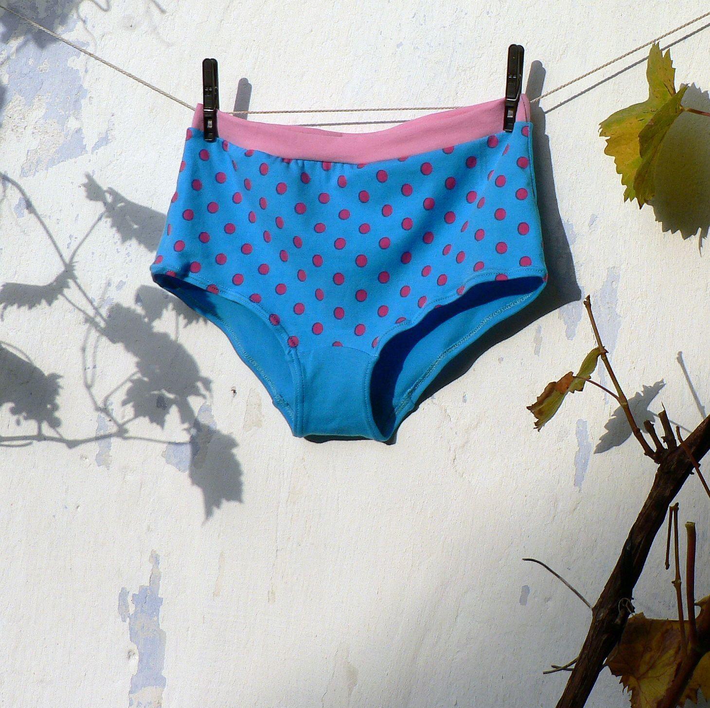 Bavlněné kalhotky - puntíky vel. 40   Zboží prodejce saana  0c2fa101fa