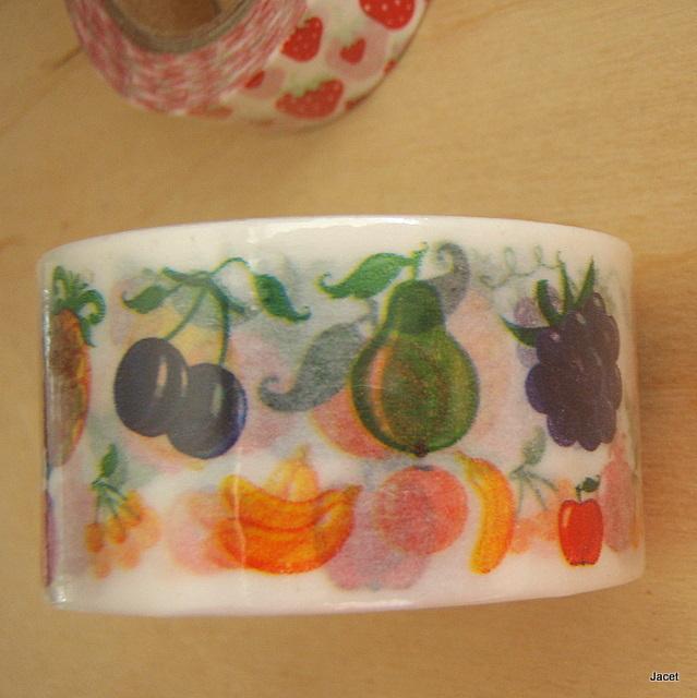 Washi páska - Ovocná marmeláda   Zboží prodejce Páskovec  9a95a59036