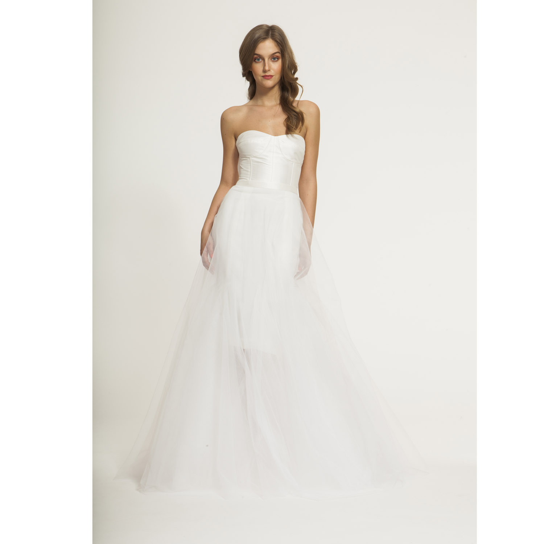 1ac3eaea05a s s 2017 - Svatební tylová sukně (Maxi svatební   BÍLÁ)   Zboží prodejce  Zuzana Veselá