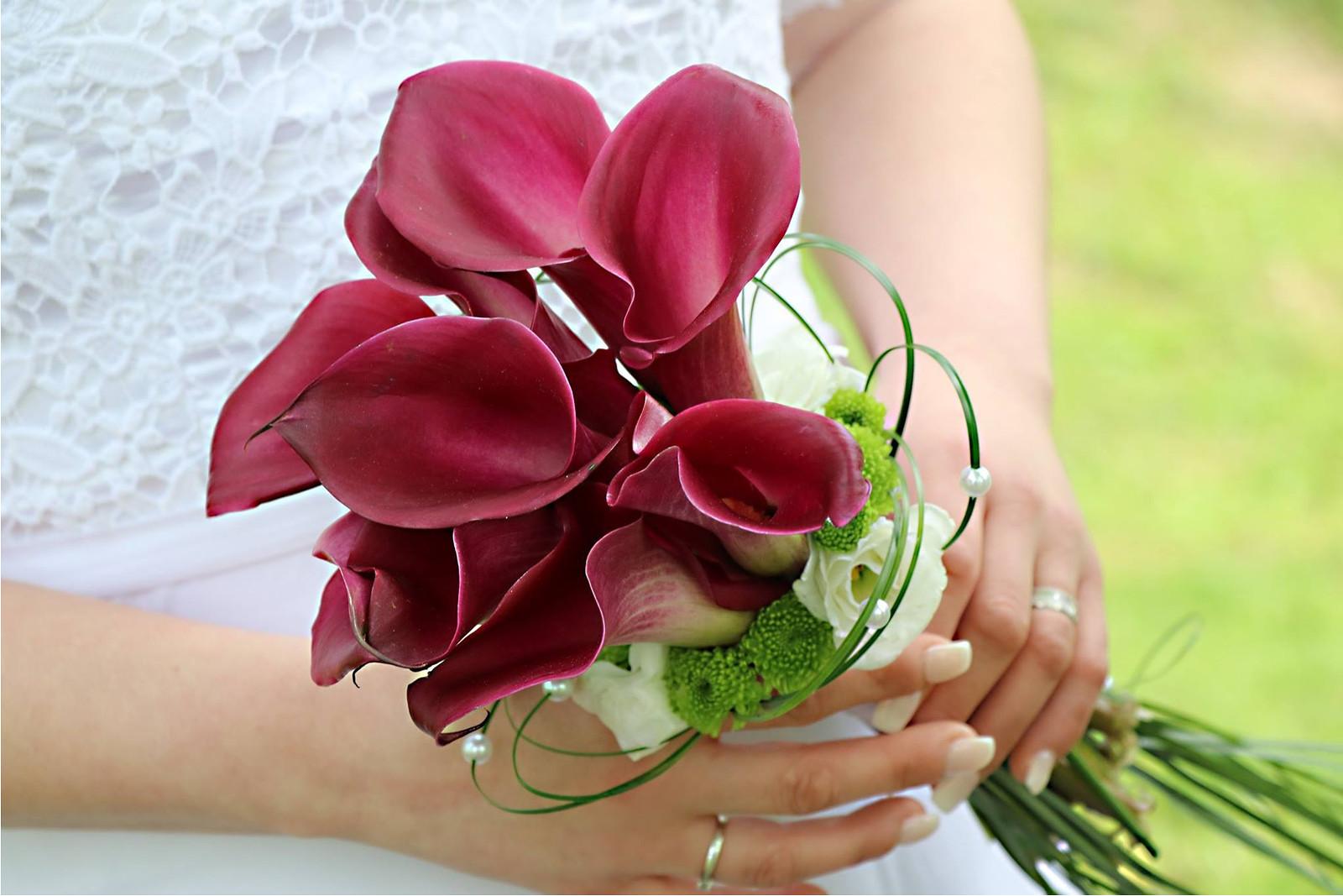 b30c8361b62 Svatební kytice- vínová elegance   Zboží prodejce verixlenka ...