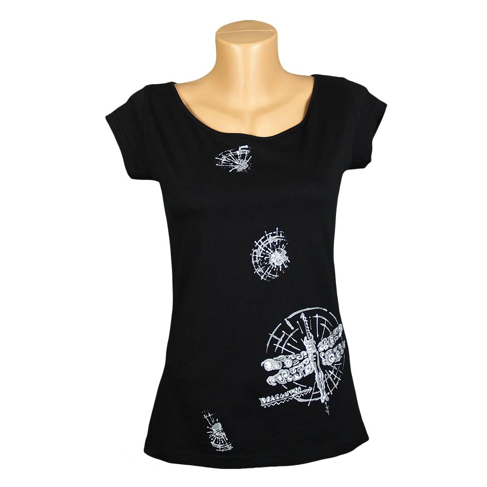 Dámské tričko s vážkou   Zboží prodejce M DESIGN  5988241127