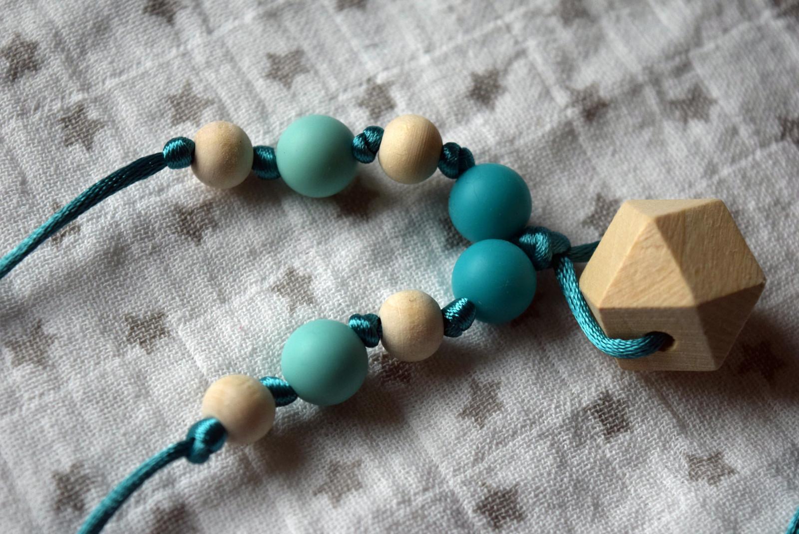 silikonové a dřevěné kousací korálky - náhrdelník   Zboží prodejce ... 19ecc4ced5