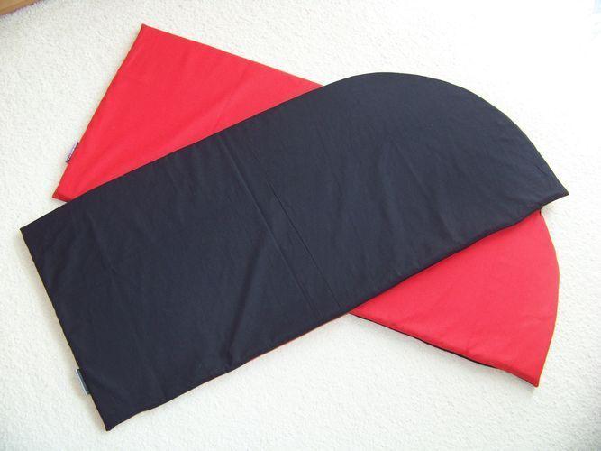 Červeno - černé podsedáky ... REZERVACE   Zboží prodejce gabriela ... 8600a48ba7