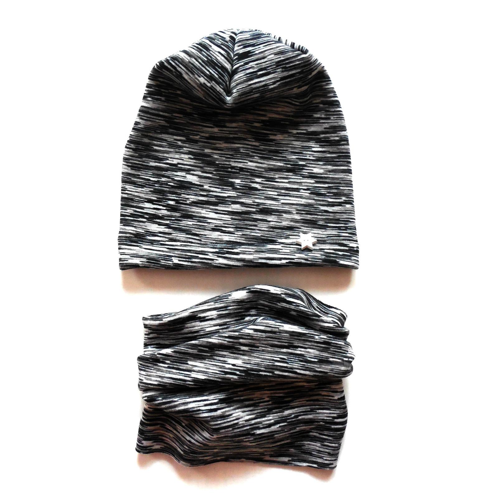 Zimní set čepice a nákrčník   Zboží prodejce GuMaS  80d6626935