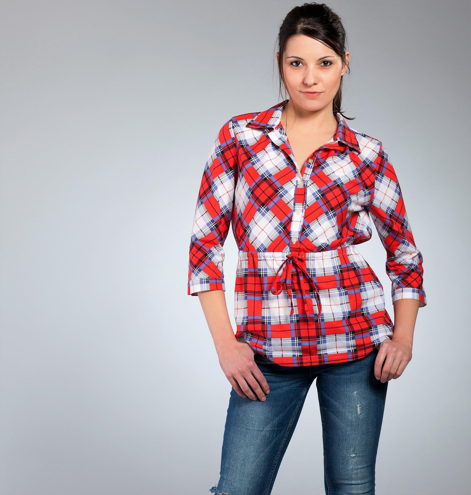 Dámská kostkovaná košilová halenka   Zboží prodejce evzenie divinova ... 3e50c0d72b