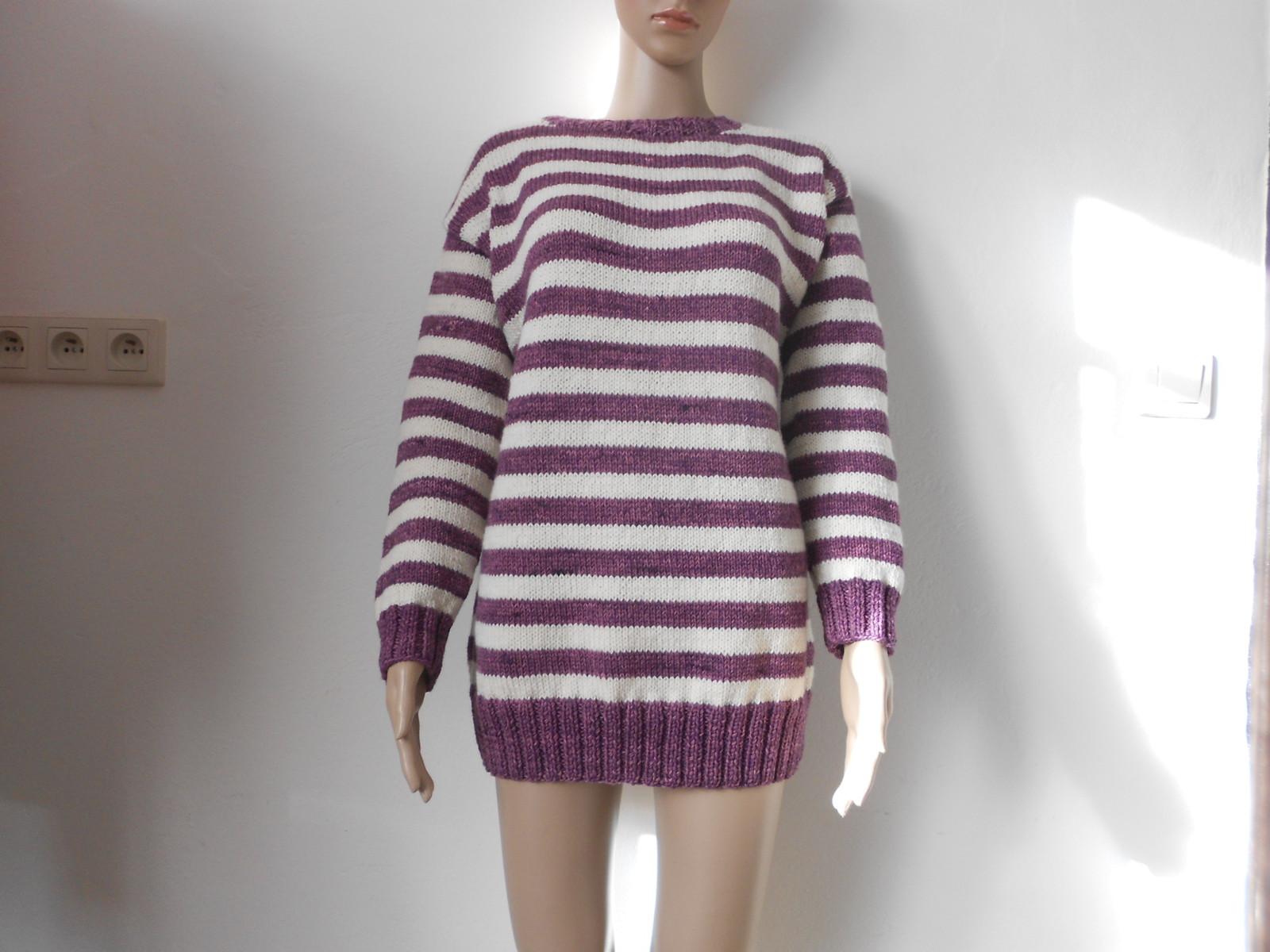 Dámský ručně pletený svetr MERINO   Zboží prodejce mi-pi  3c4c2406ba