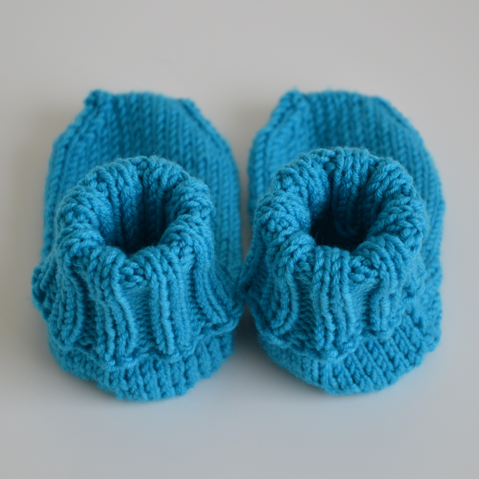 7ce29ccadb5 Merino ponožky od naší babičky - tyrkysové   Zboží prodejce Malinky ...