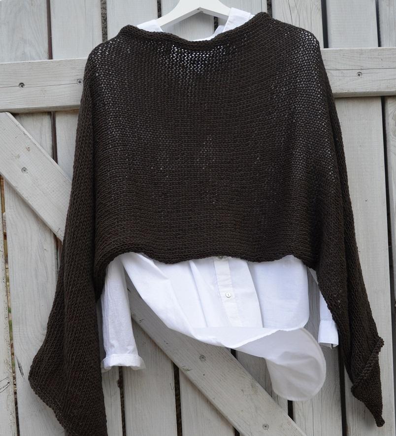 a30b7776694 Cotton merino šál - hořká čokoláda   Zboží prodejce berkan.