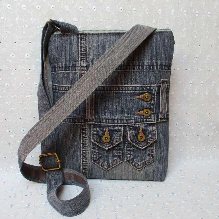 Džínová kabelka malá - 10   Zboží prodejce INDIGO13  a5261d030f1