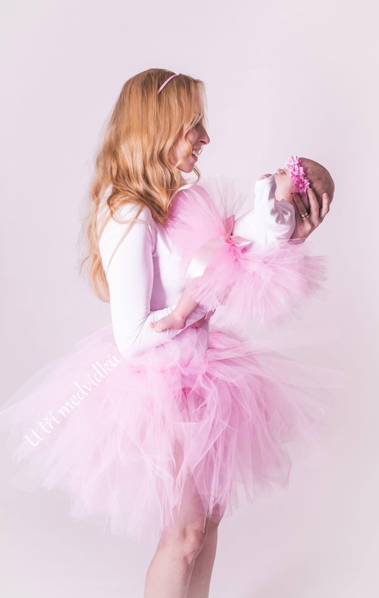ef70cdbb9856 Dámská a dětská tylová sukně   Zboží prodejce MVstyle