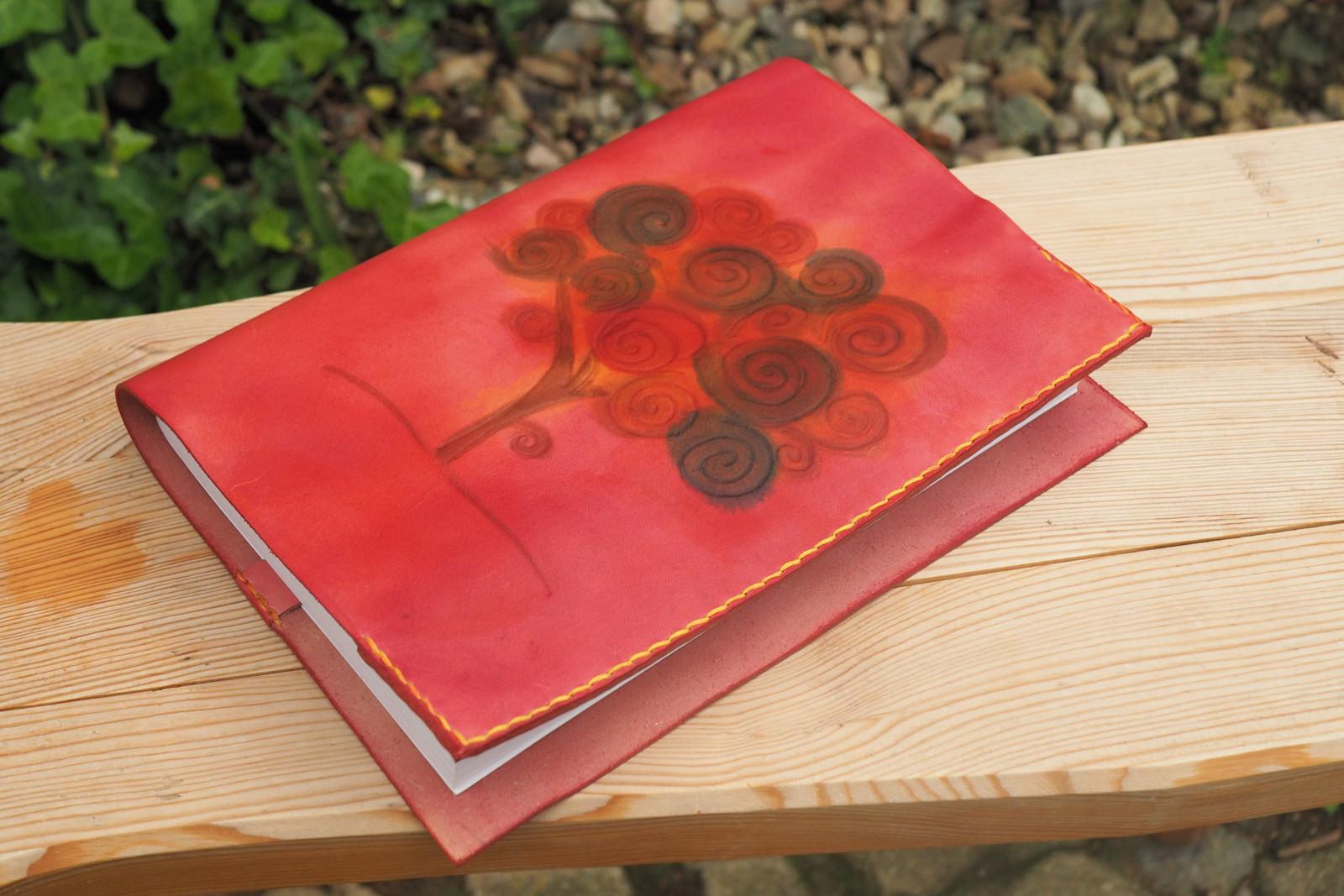 Rostoucí kožený obal na knížku- strom života   Zboží prodejce ... 9eb3ada4bc
