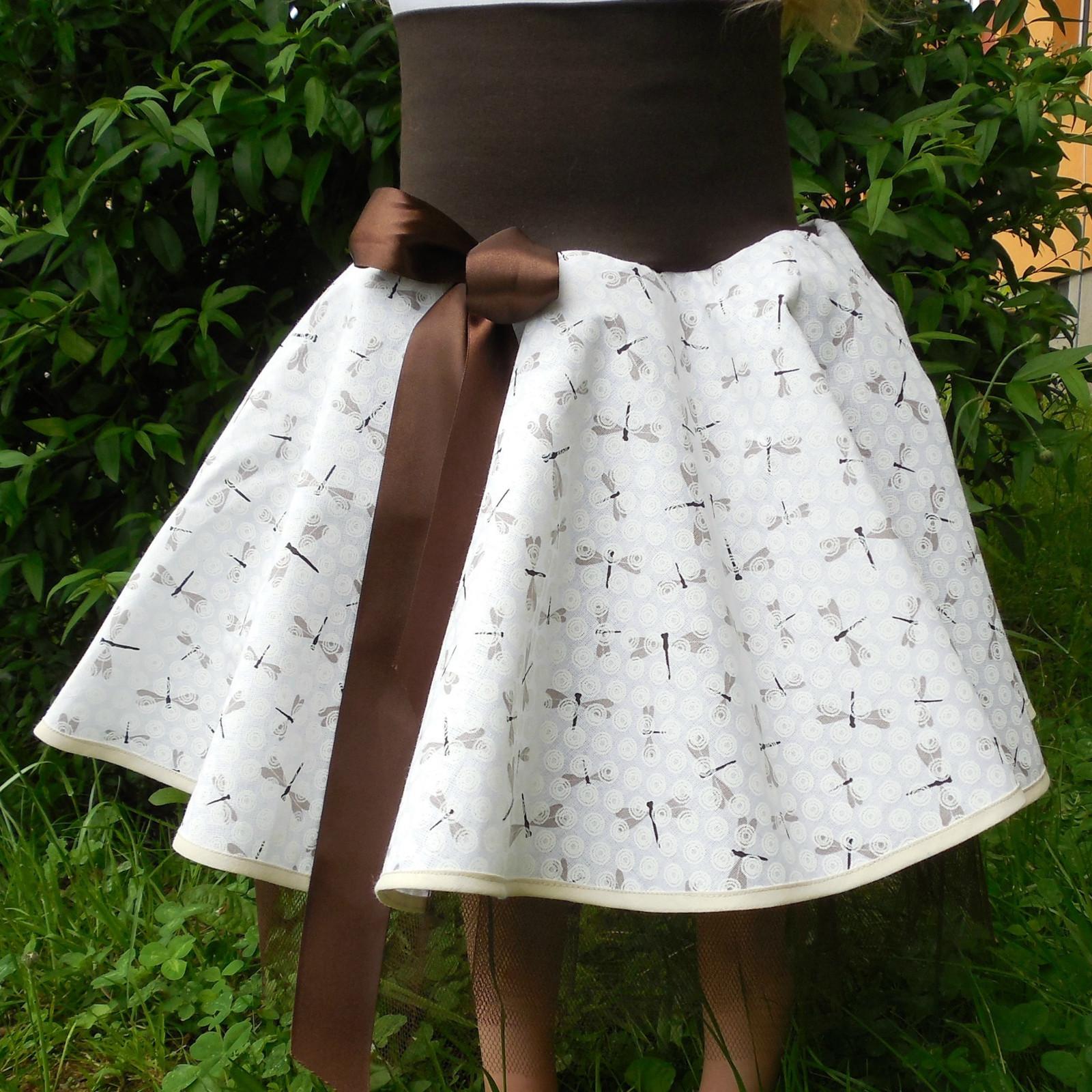 949801533a4 Kolová sukně s tylem   Zboží prodejce GuMaS