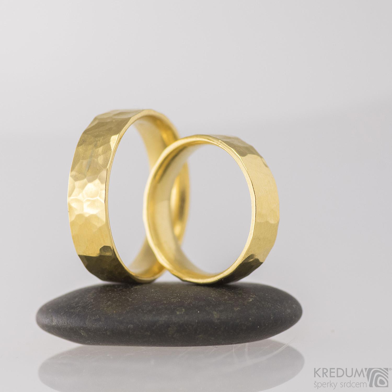632e7f4b2 Zlaté snubní prsteny - Golden Draill - slečna Tana / Zboží prodejce ...