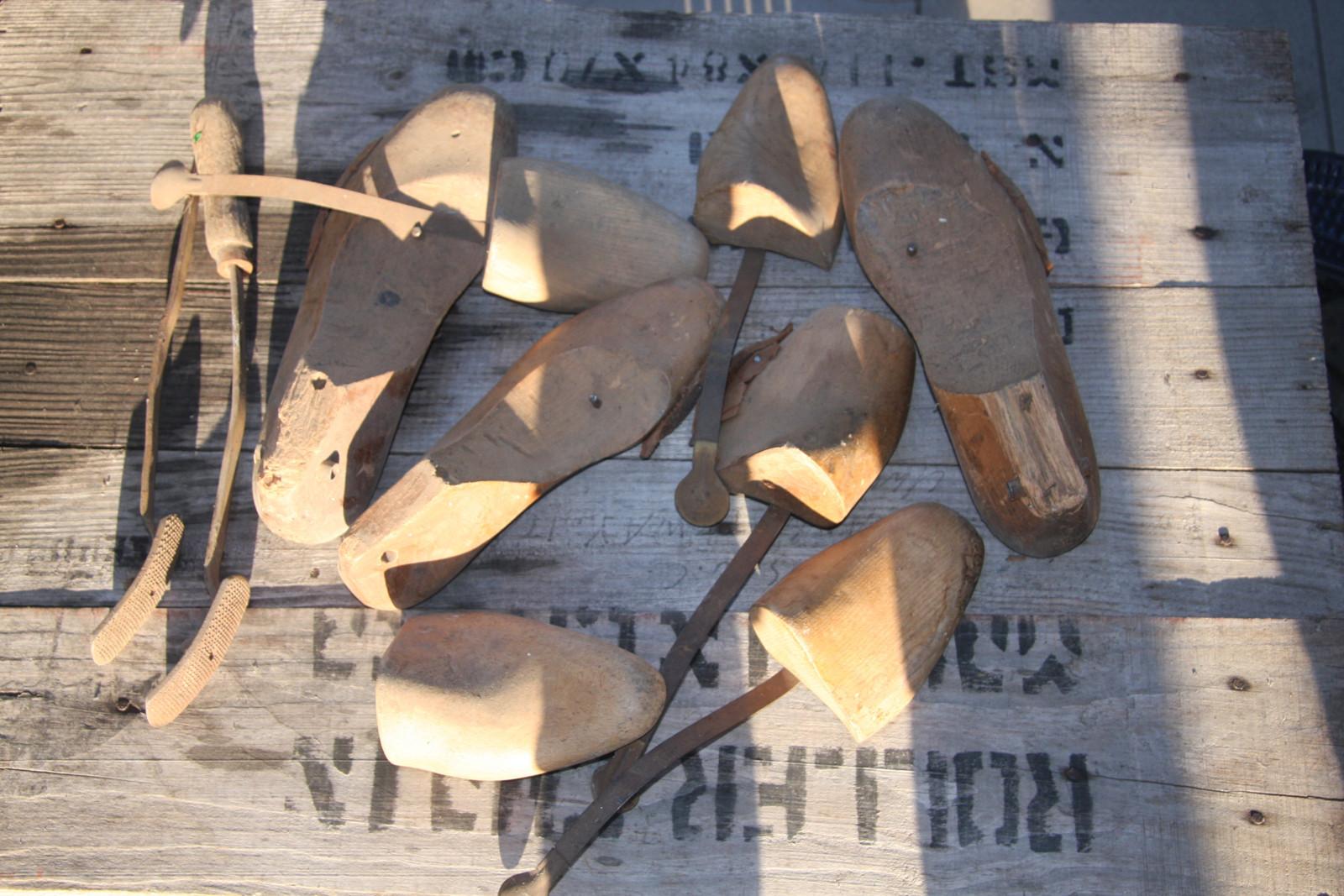 70bf87ec836d Starožitná ševcovská kopyta - dřevěná   Zboží prodejce myšmaš