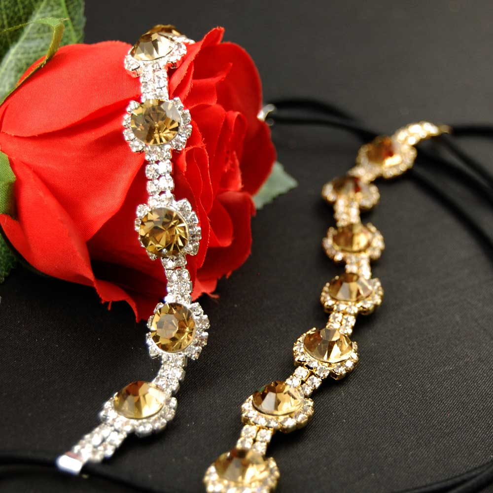 43c913fddf4 Great Gatsby Topáz ... čelenka (zlatá)   Zboží prodejce Maria accessories