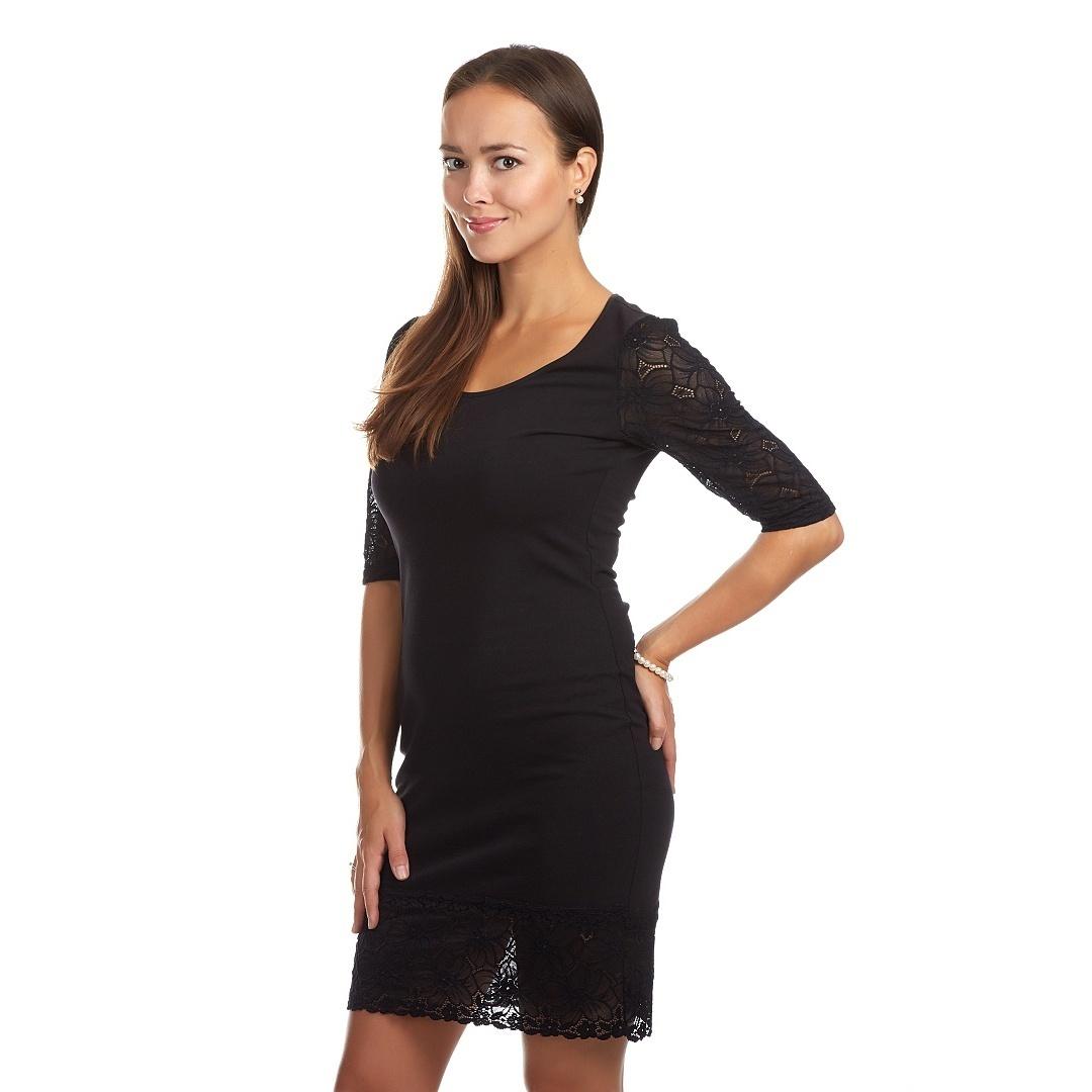 Společenské šaty s krajkou - RUTH   černá   Zboží prodejce Top ... a8491981ed