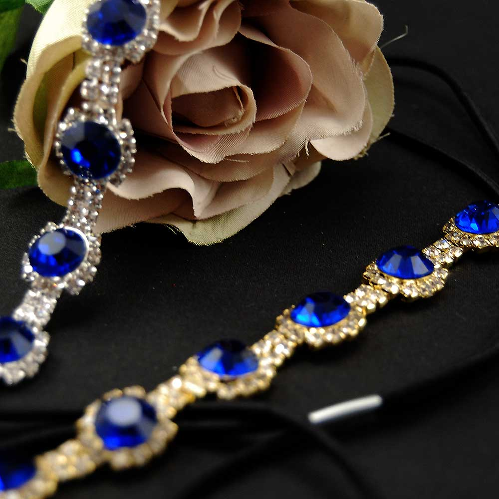 ef53a3b938d Great Gatsby Blue ... čelenka (zlatá)   Zboží prodejce Maria accessories