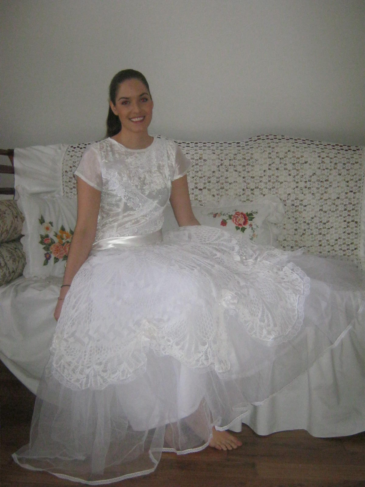 Svatební šaty ve vintage stylu   Zboží prodejce evelina30  9b09100bdcc