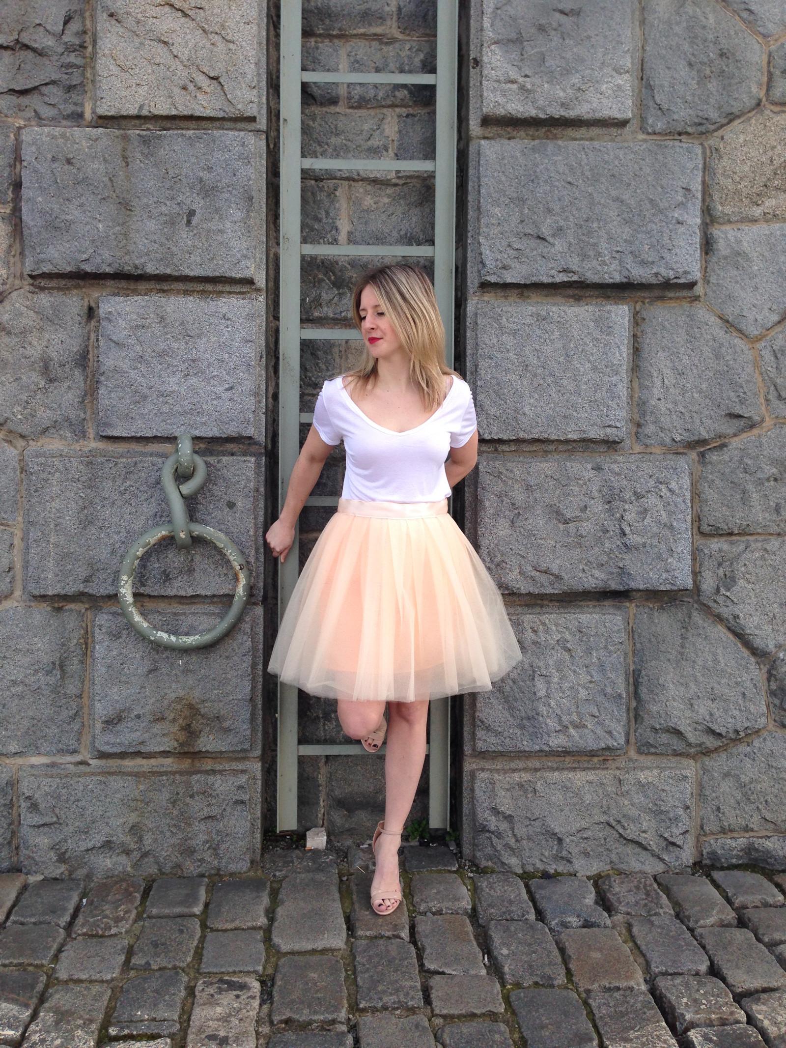 tylová sukně - champagne   Zboží prodejce 2me  38080966d7