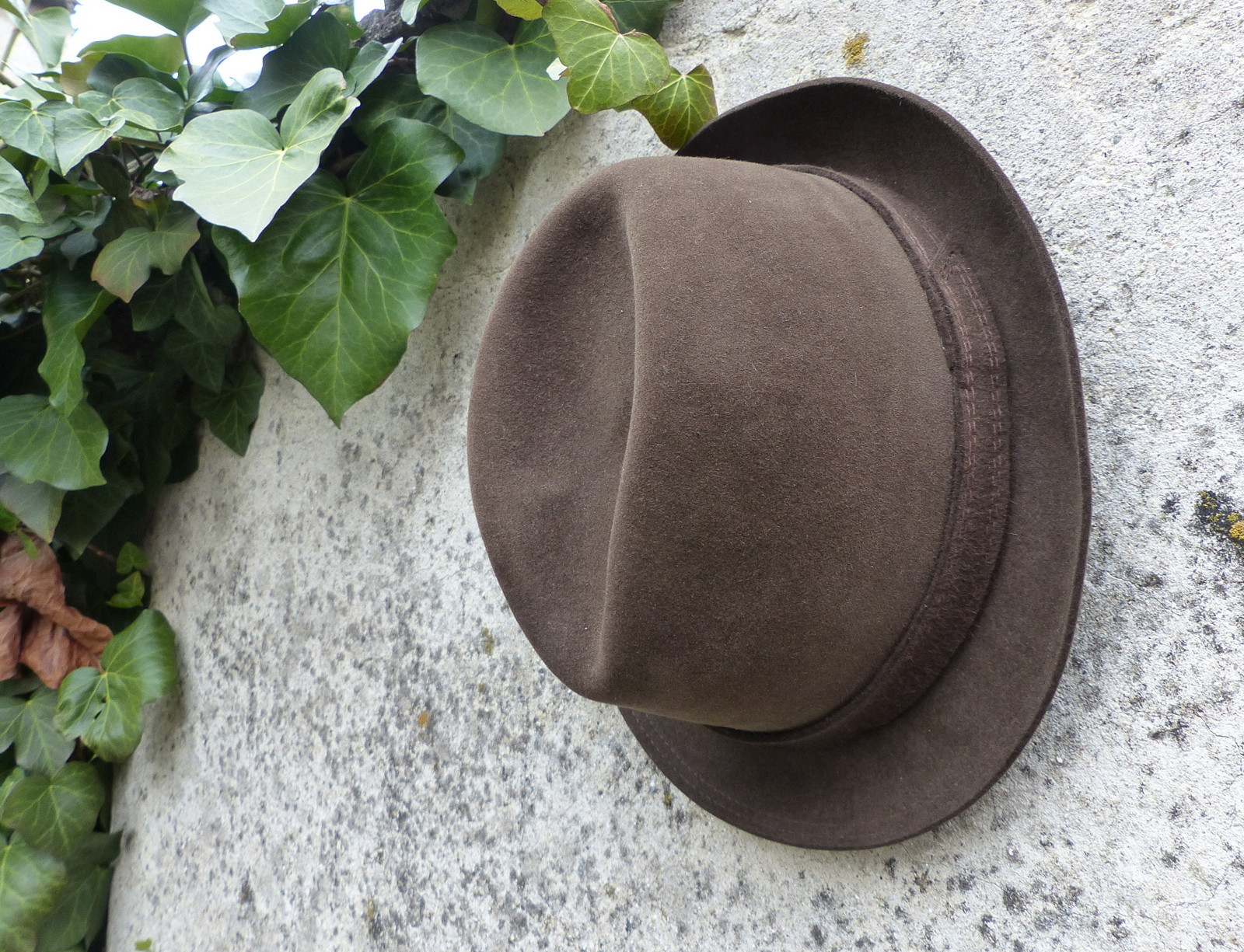 Kvalitní pánský plstěný klobouk   Zboží prodejce letokruhy  94dd89e135