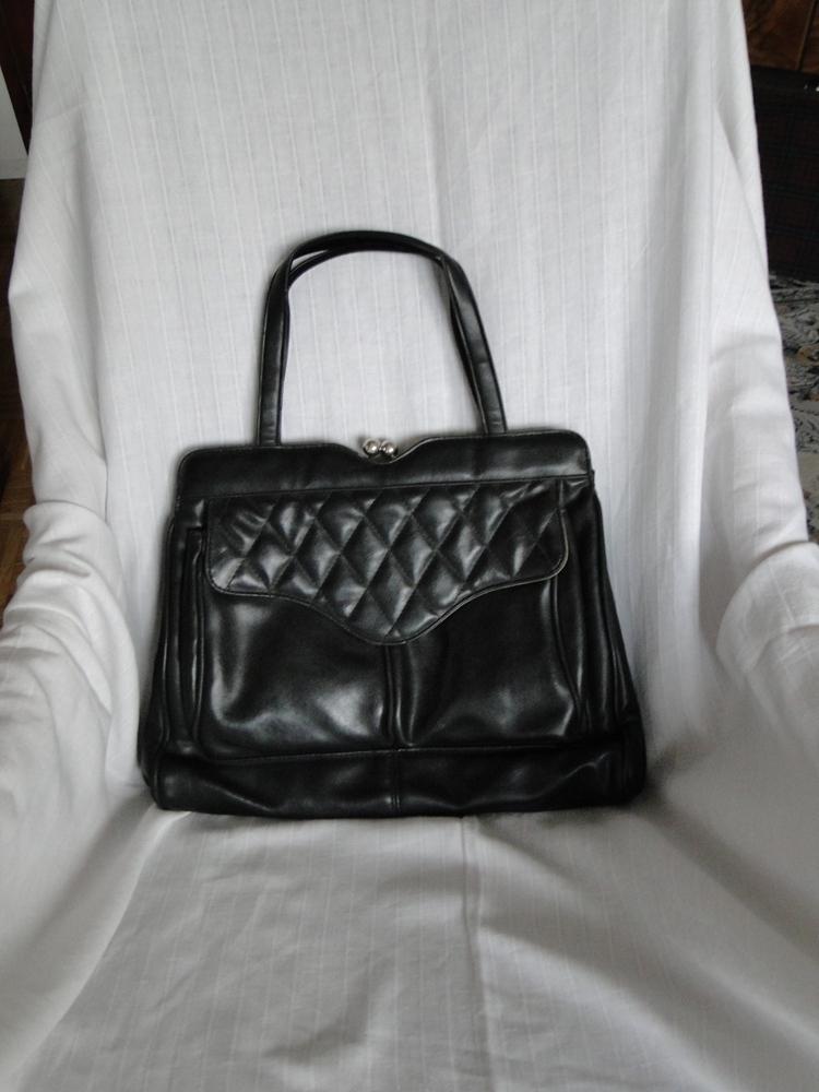 2d225ea389 Retro Kabelka - černá s rámem   Zboží prodejce Marca Foja