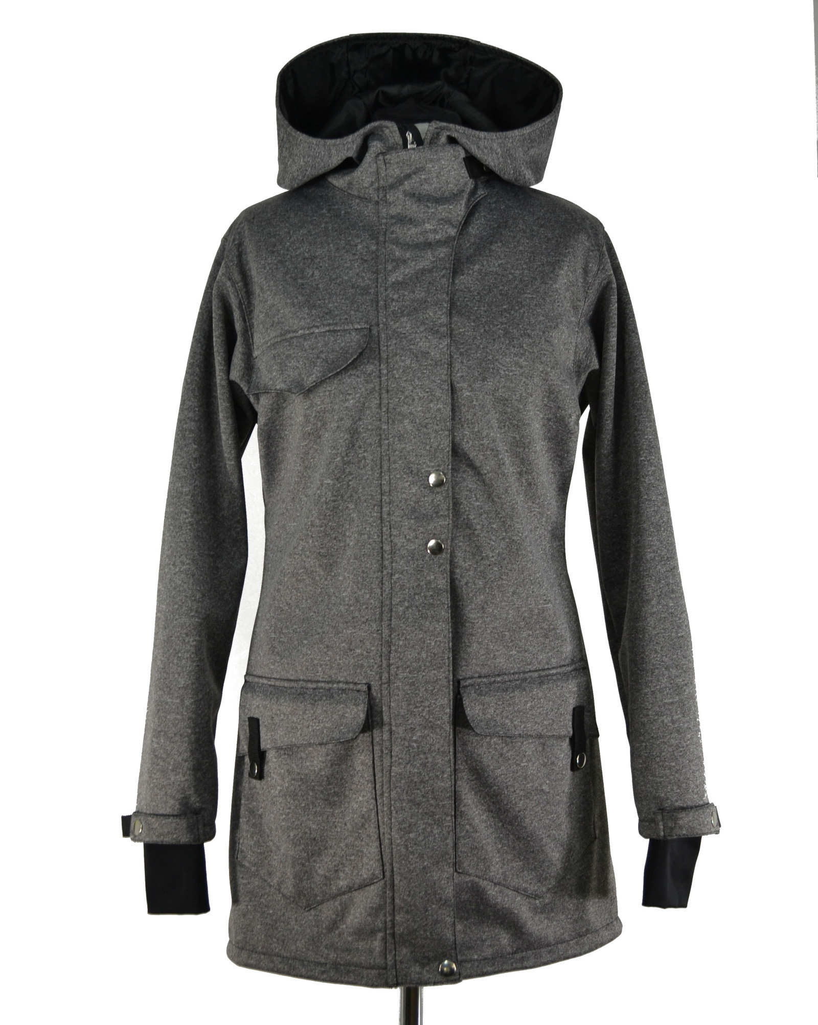 Soft. kabát šedý 04d6c146dd