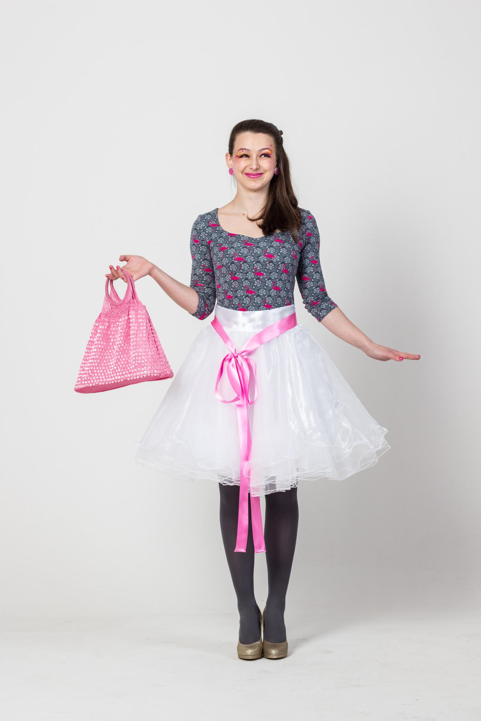Bílá tylová sukně - Drůžička   Zboží prodejce VerLyba  722e836ae3