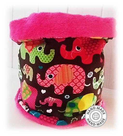 0b2e63e462c Zimní šátek nákrčník tunel slon   coral fleece   Zboží prodejce ...