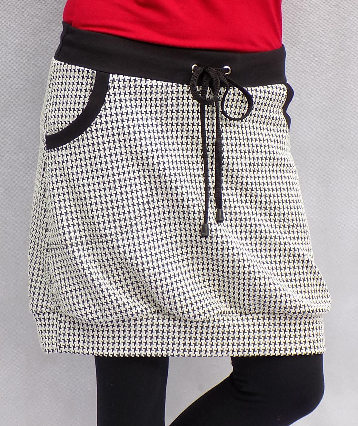 Černobílá sukně...vel. L XL   Zboží prodejce LaPanika  d7bb08da2b7