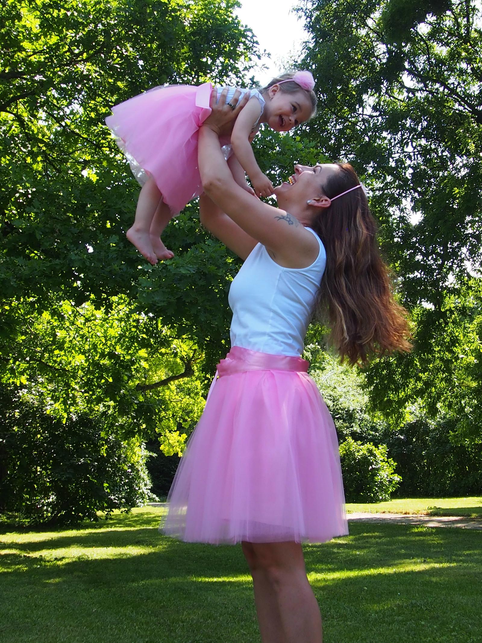 22acb6bf989 Zavinovací tylová sukně - světle růžová   Zboží prodejce MVstyle ...