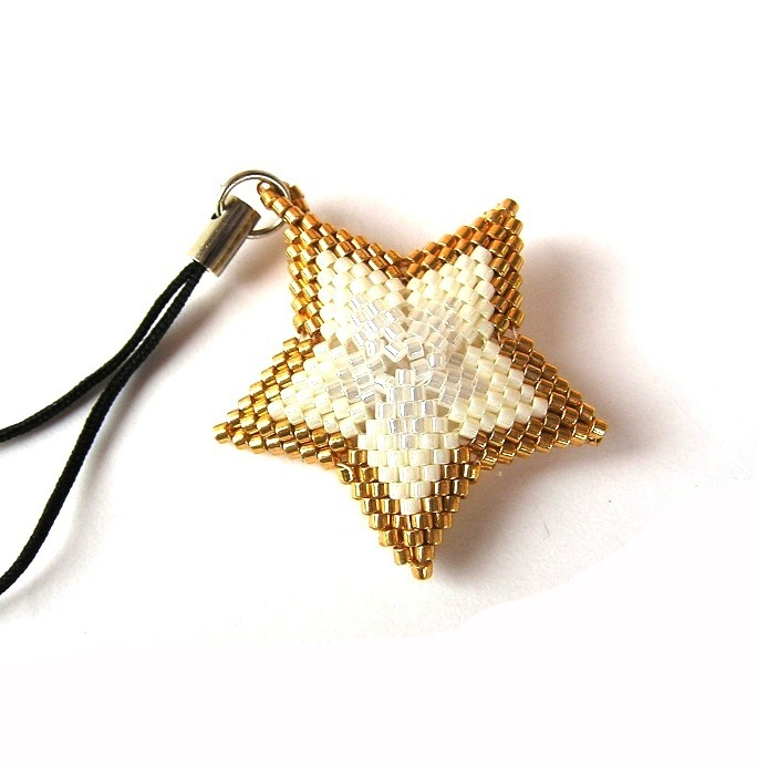 Zlatá hvězda - přívěsek   Zboží prodejce DaSche  db727a9d025