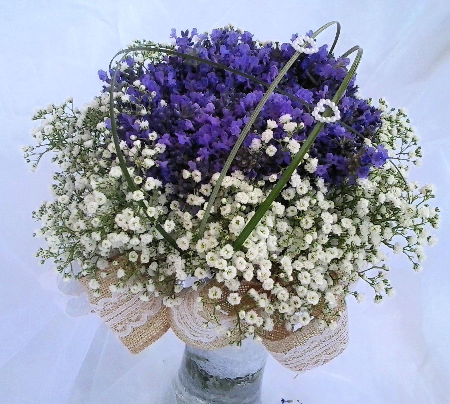 a4ff474f847 Svatební kytice - levandule v krajkách   Zboží prodejce verixlenka ...