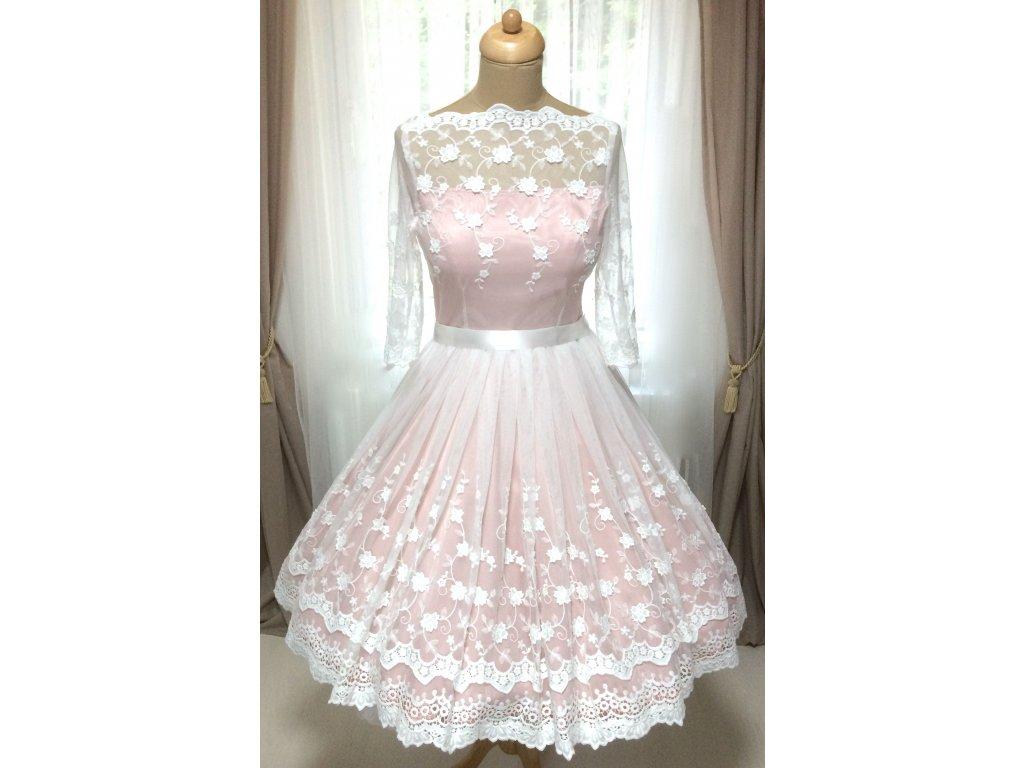 Krátké svatební šaty z bavlněné vintage krajky   Zboží prodejce Mia ... 3cfdce24ec4