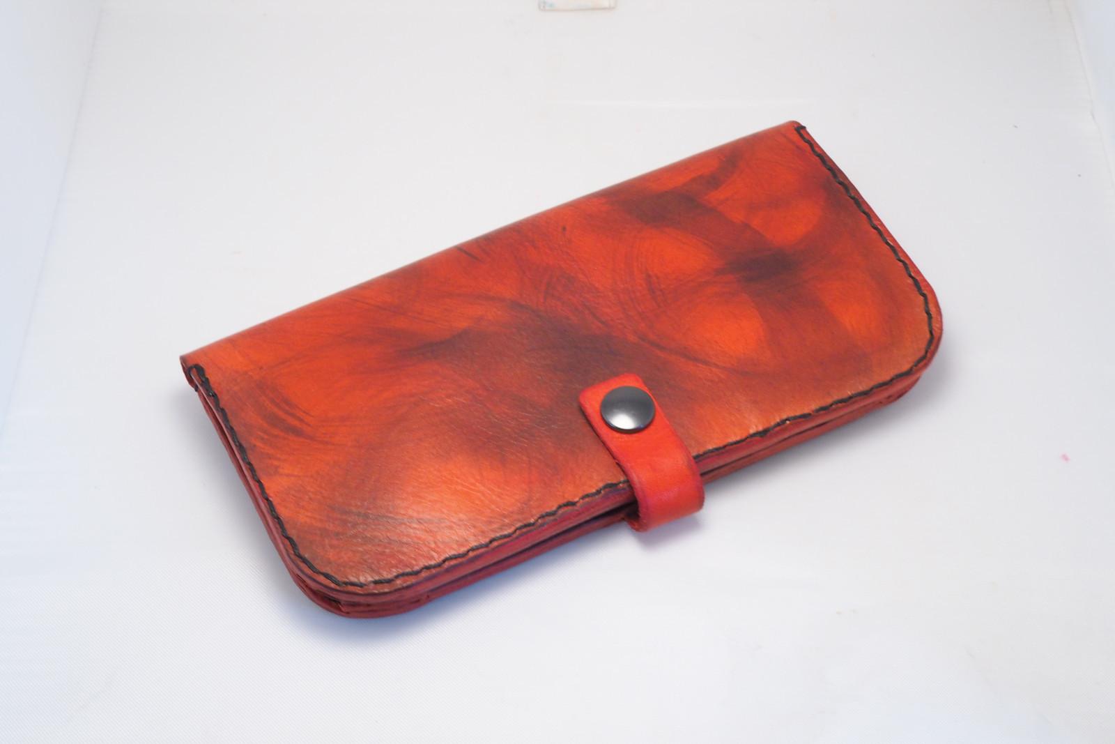 Dámská kožená peněženka - červená   Zboží prodejce MontMat  f5d27eaf14
