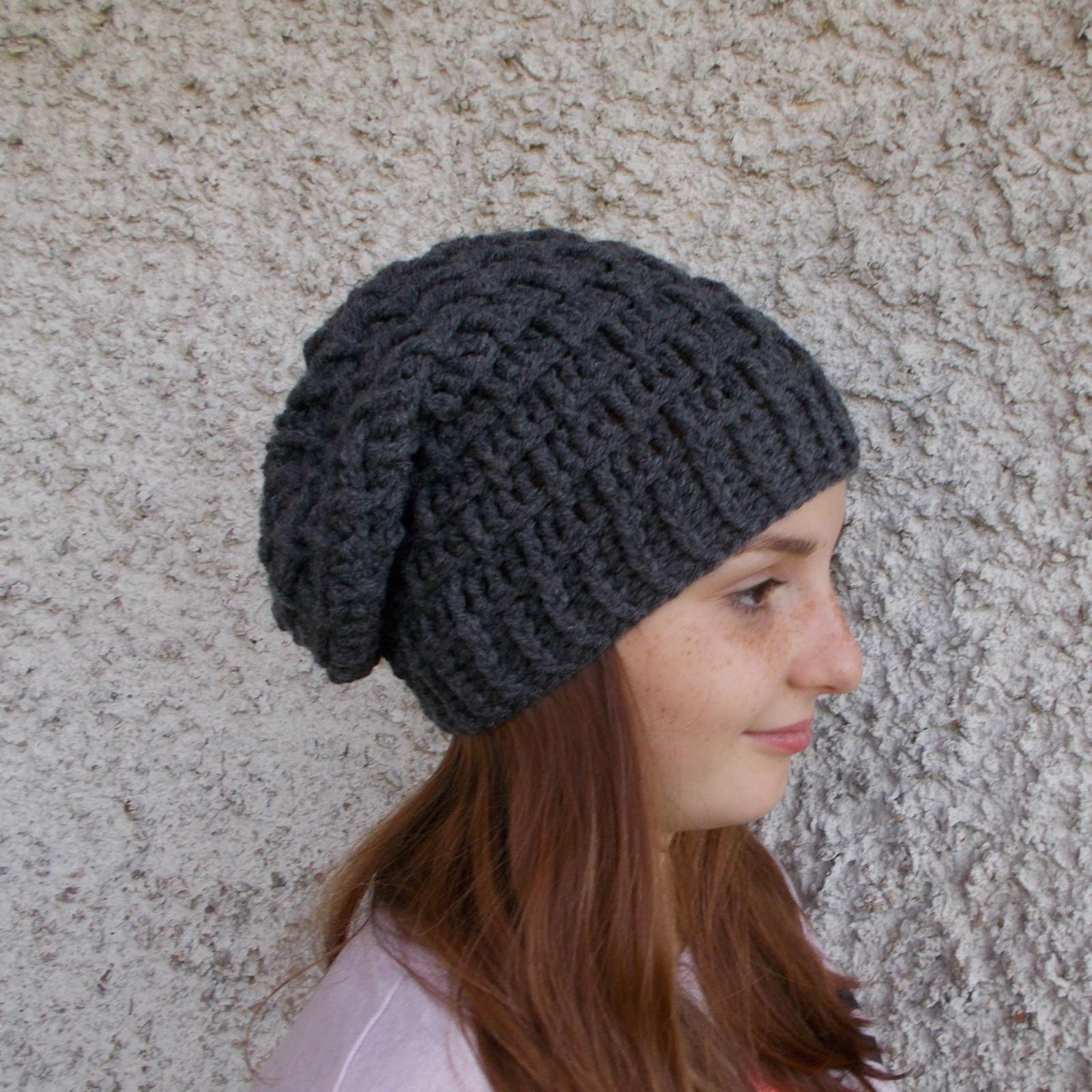 227abe29e85 Zimní čepice dámská - homelesska   Zboží prodejce Krocanda