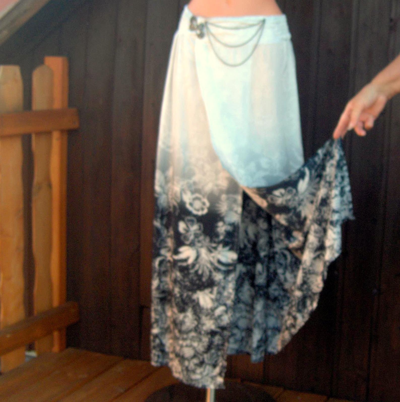 e451bbf5347 Dlouhá zavinovací sukně.......   Zboží prodejce Evlen