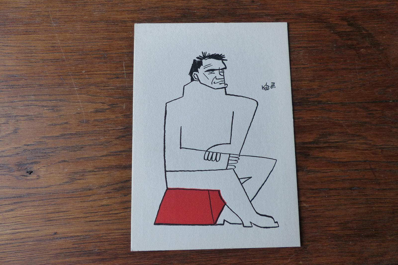 Milan Kundera Karikatura J Kandl Zbozi Prodejce Navraty Fler Cz
