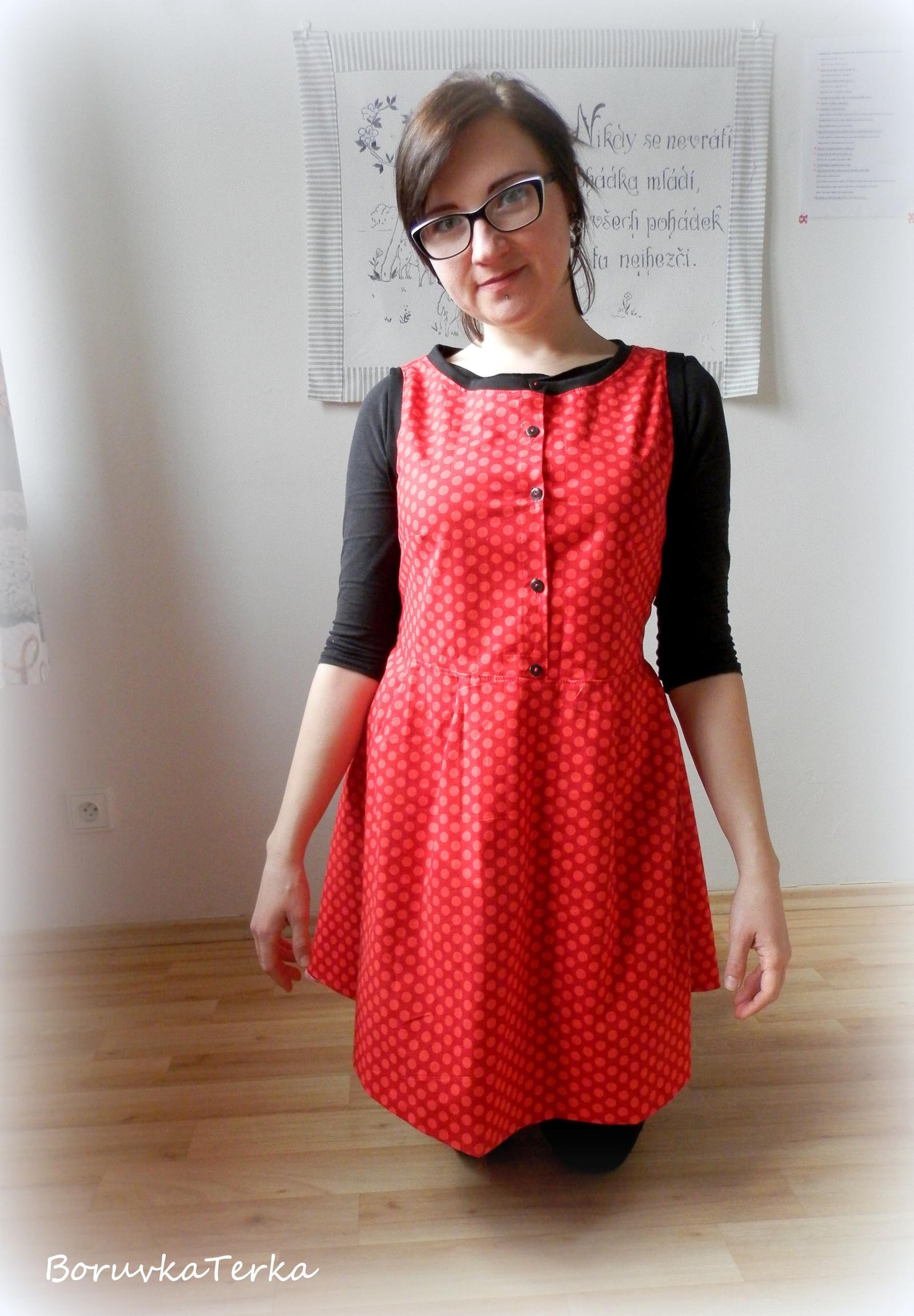 0dafe5b81a0d Sleva- Retro šaty Rockabilly rebelka   Zboží prodejce BorůvkaTerka ...