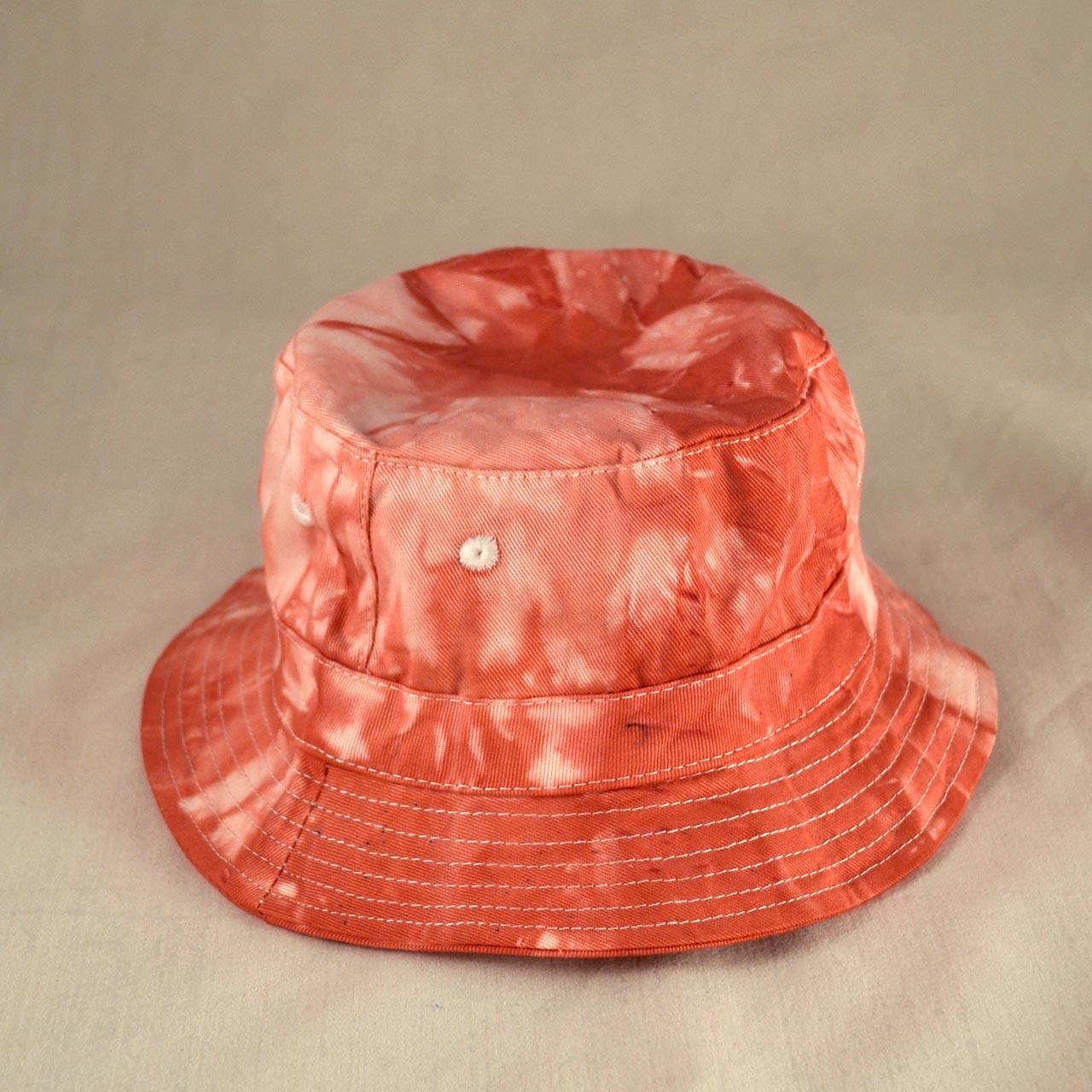 Batikovaný dětský klobouček - růžovovínový   Zboží prodejce dzejn.n ... ad2aa5308d