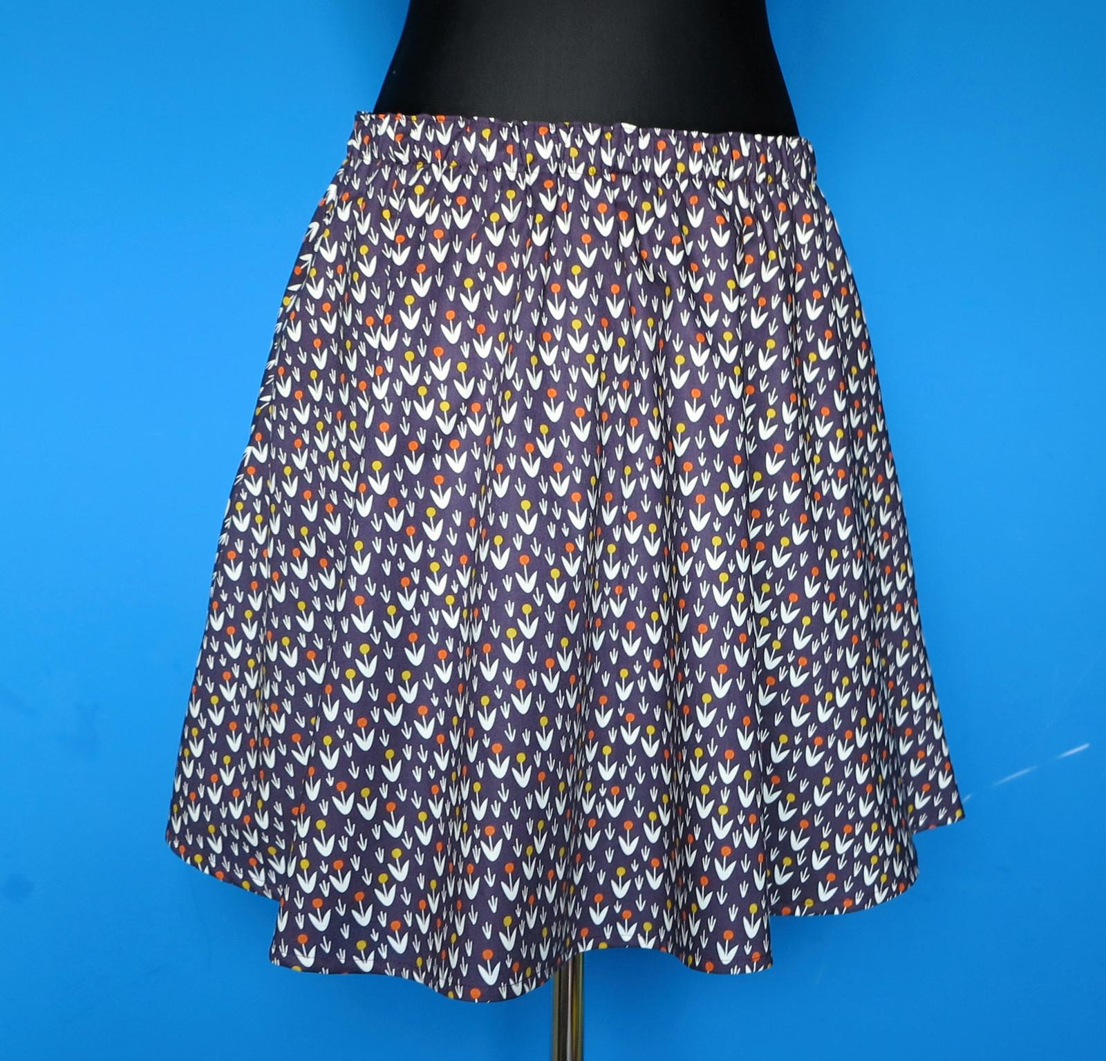 ca6695cfb701 sukně kolová z organické bavlny s kapsama