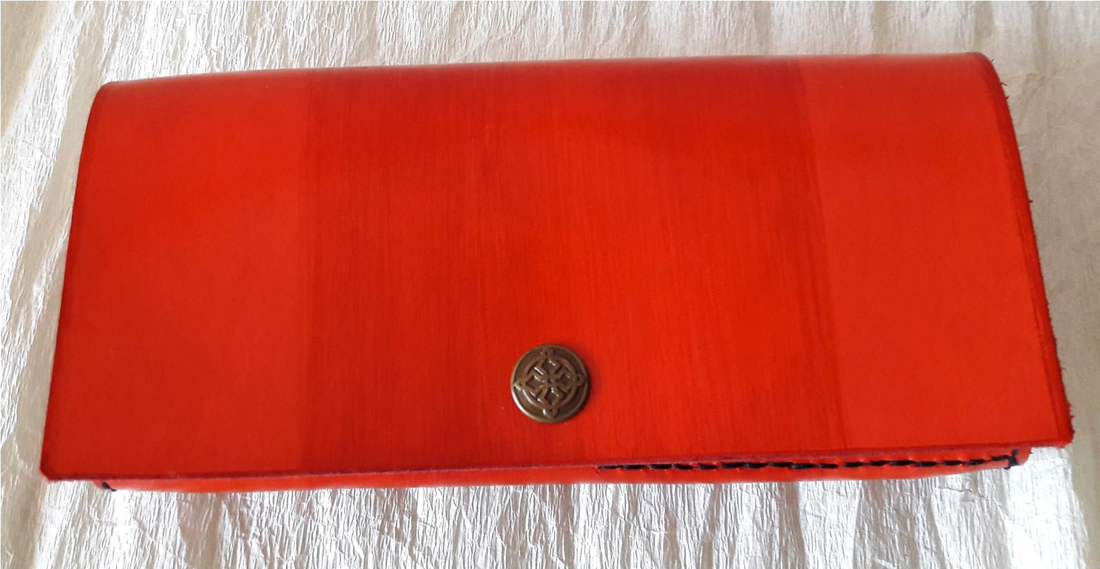 Kožená peněženka dámská....červená...   Zboží prodejce Nezbytné ... 5dc7fde262