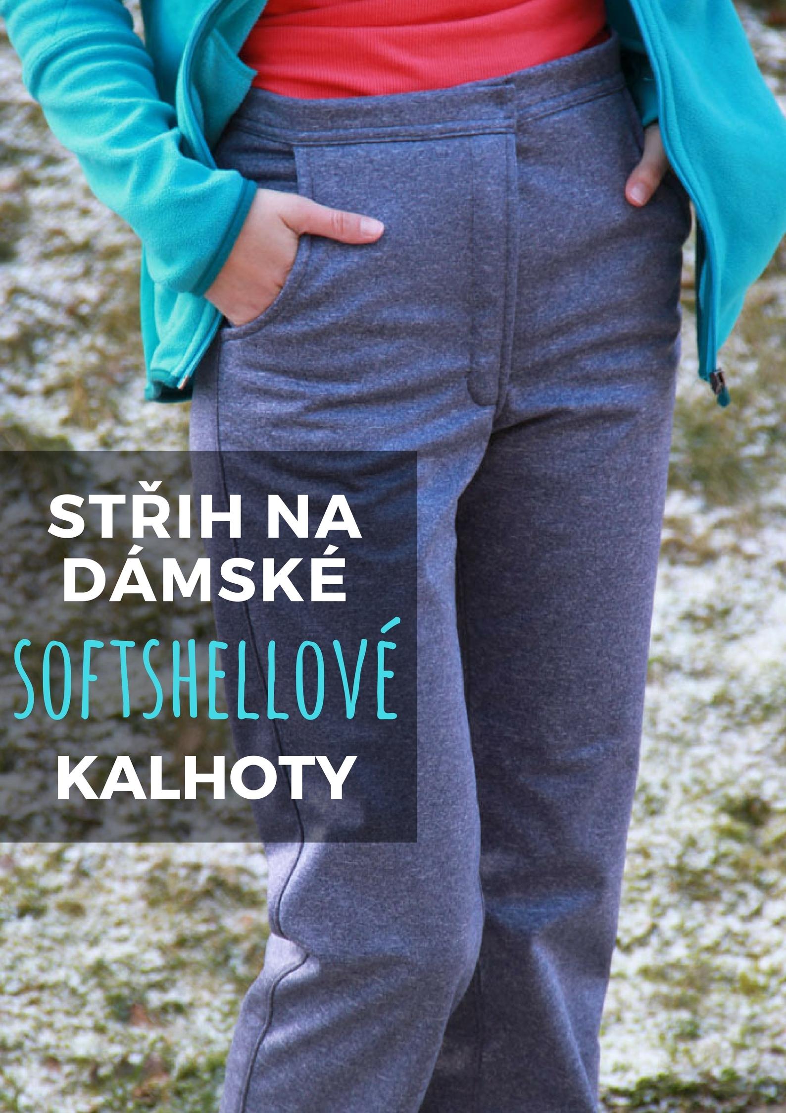 Střih na dámské (softshellové) kalhoty + návod   Zboží prodejce ... ba60174def