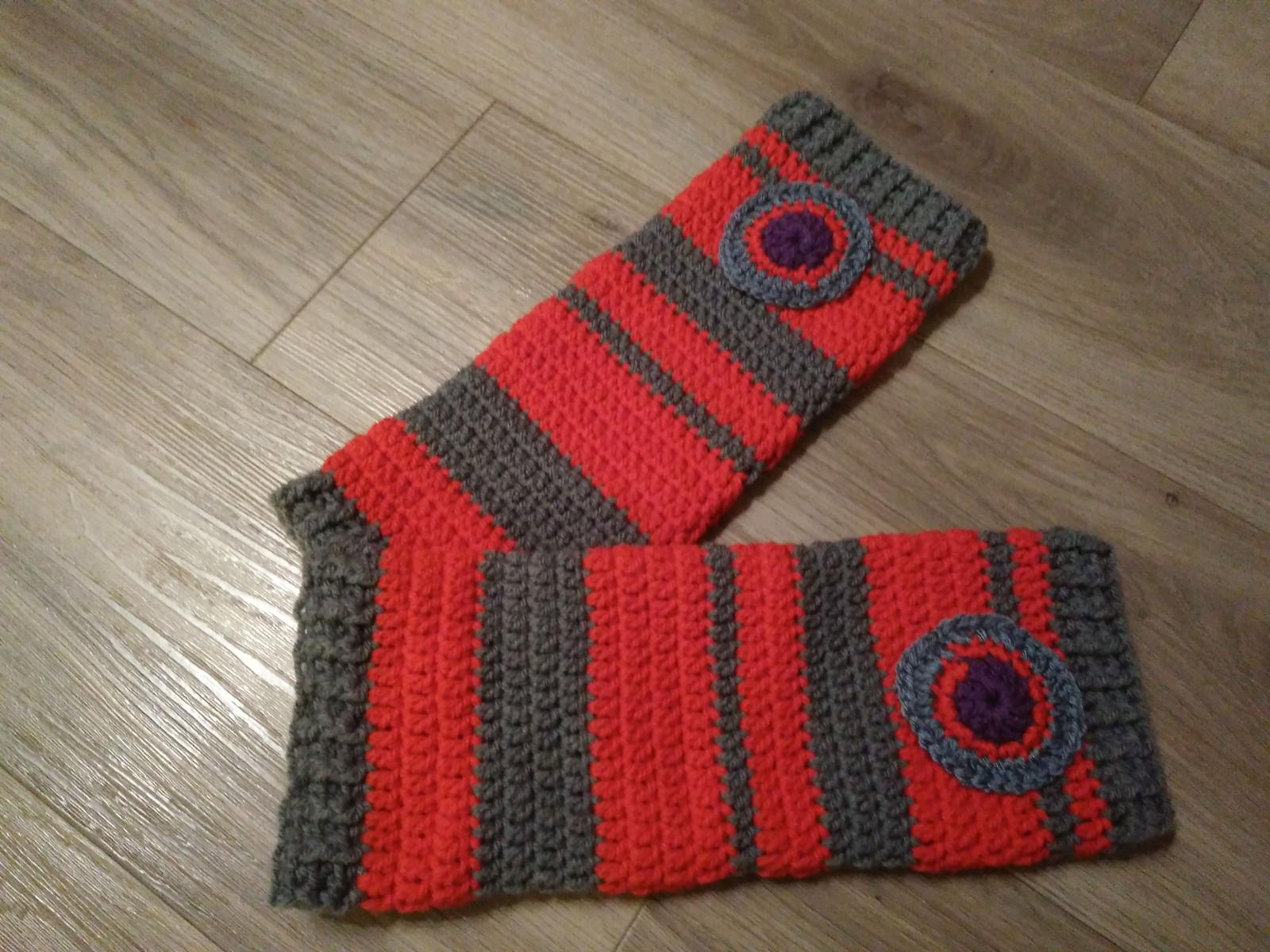 5f91b8782ff Červená karkulka - Veselé návleky na nohy   Zboží prodejce BoKiss ...